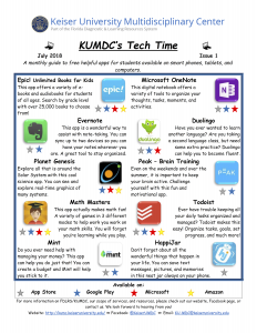 image with clickable link to July 2018 TechTime Newsletter