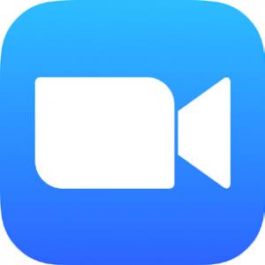 Zoom videoconferencing platform logo