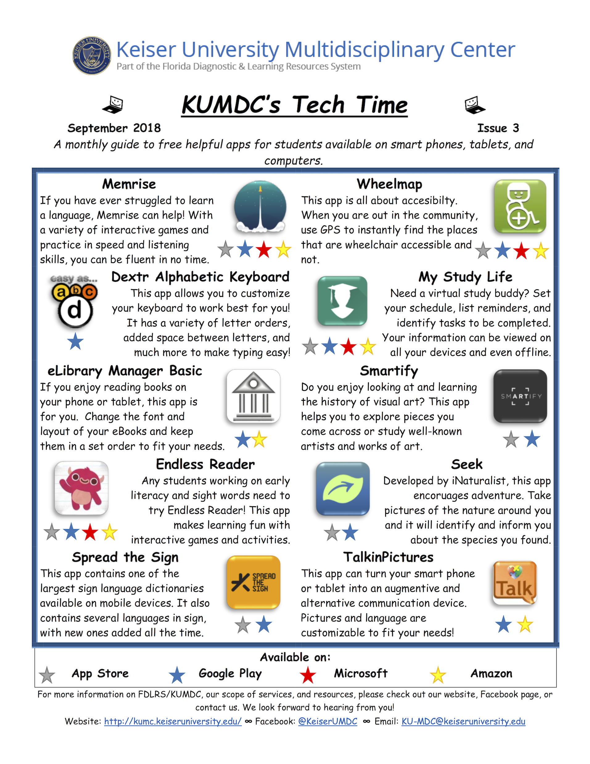 image with clickable link to September 2018 TechTime Newsletter