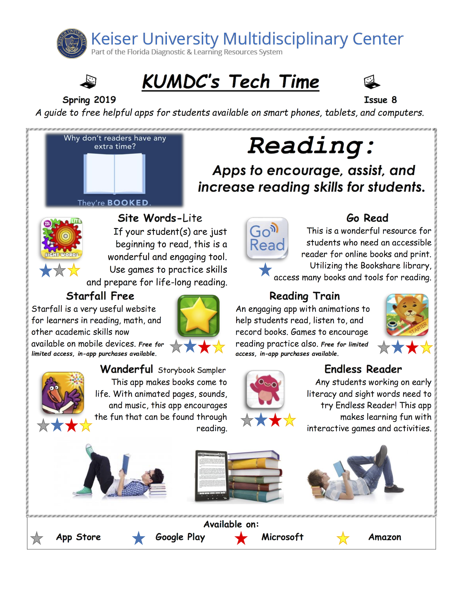image with clickable link to Spring 2019 TechTime Newsletter
