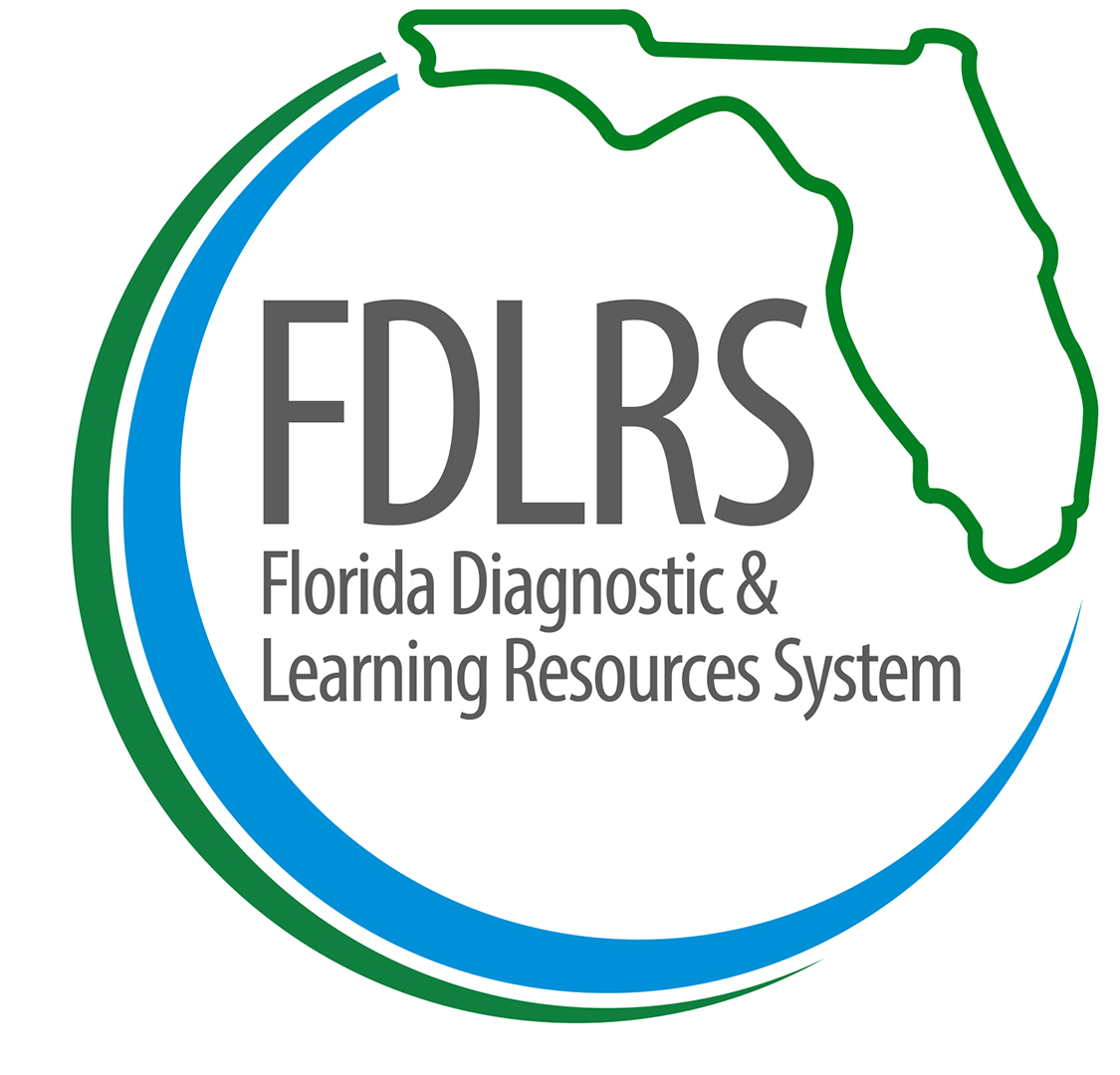 Logo for Florida Diagnostics and Learning Resources System